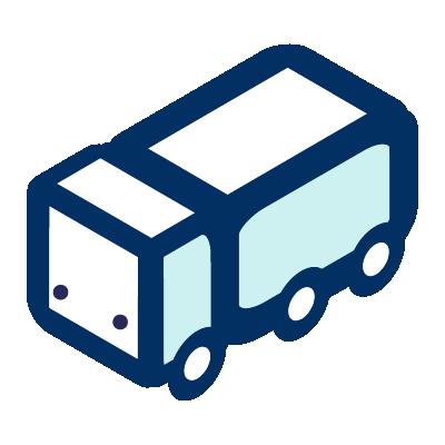 Un icono de un camión