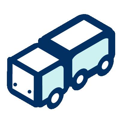 Un icono de un trailer